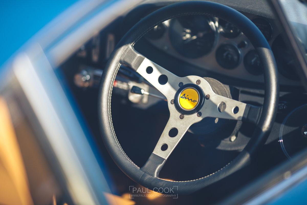 1973 RHD Ferrari Dino 246 GT - DEPOSIT TAKEN For Sale (picture 3 of 6)