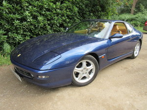 1999 Ferrari 456 M GT Six-speed manual Left hand drive For Sale