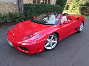 Picture of 2004 Ferrari 360 manual spider For Sale