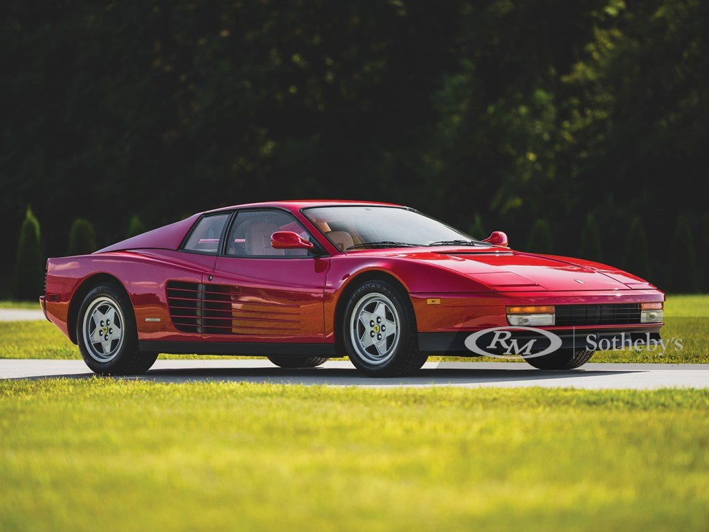 1991 Ferrari Testarossa  For Sale by Auction (picture 1 of 6)