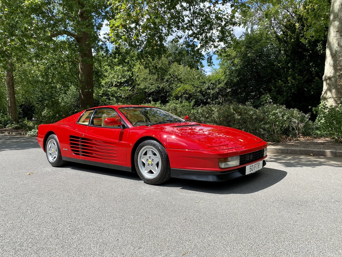 1990 Ferrari Testarossa For Sale (picture 1 of 24)