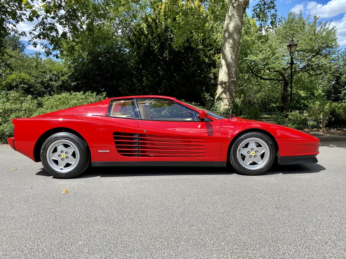 1990 Ferrari Testarossa For Sale (picture 4 of 24)