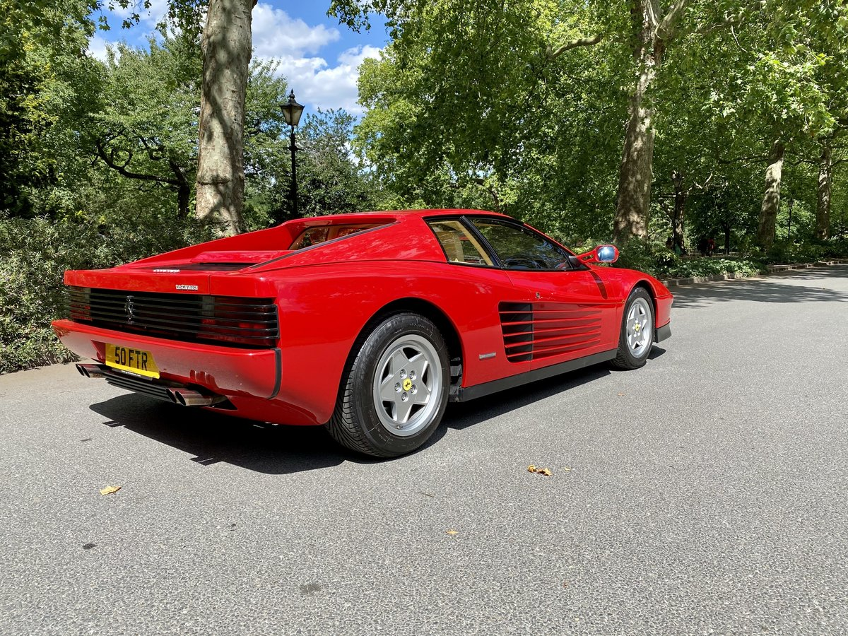 1990 Ferrari Testarossa For Sale (picture 7 of 24)