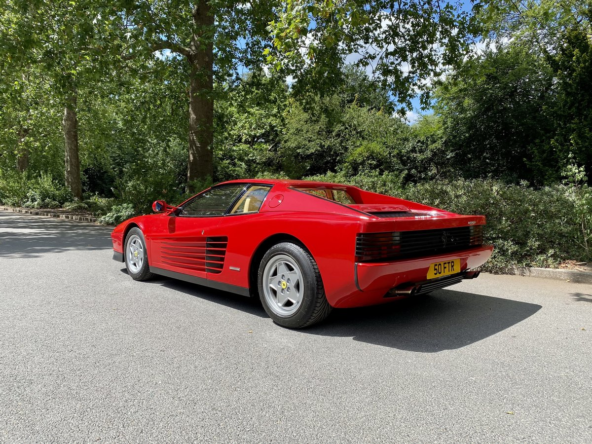 1990 Ferrari Testarossa For Sale (picture 8 of 24)