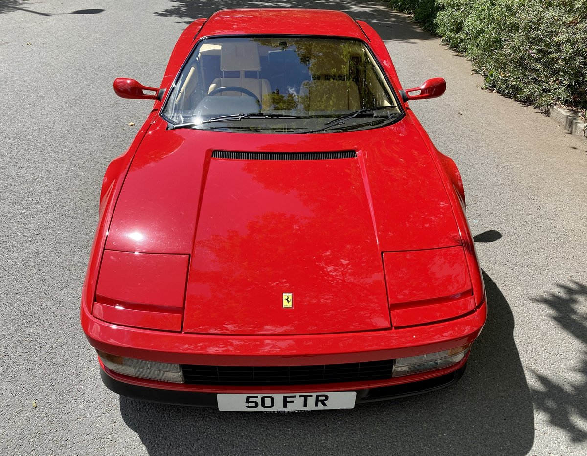 1990 Ferrari Testarossa For Sale (picture 10 of 24)