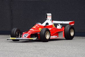 Ferrari 312T (Niki Lauda) child's car scale 1/2
