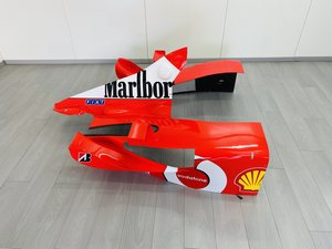 Ferrari F2002 Engine Cover