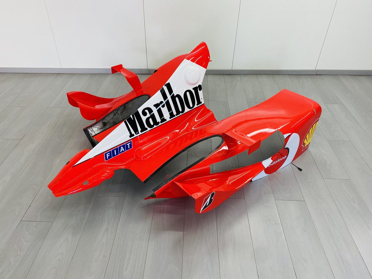 Ferrari F2002 Engine Cover For Sale (picture 6 of 6)