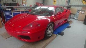 2001 Ferrari 360 challenge, refurbished.