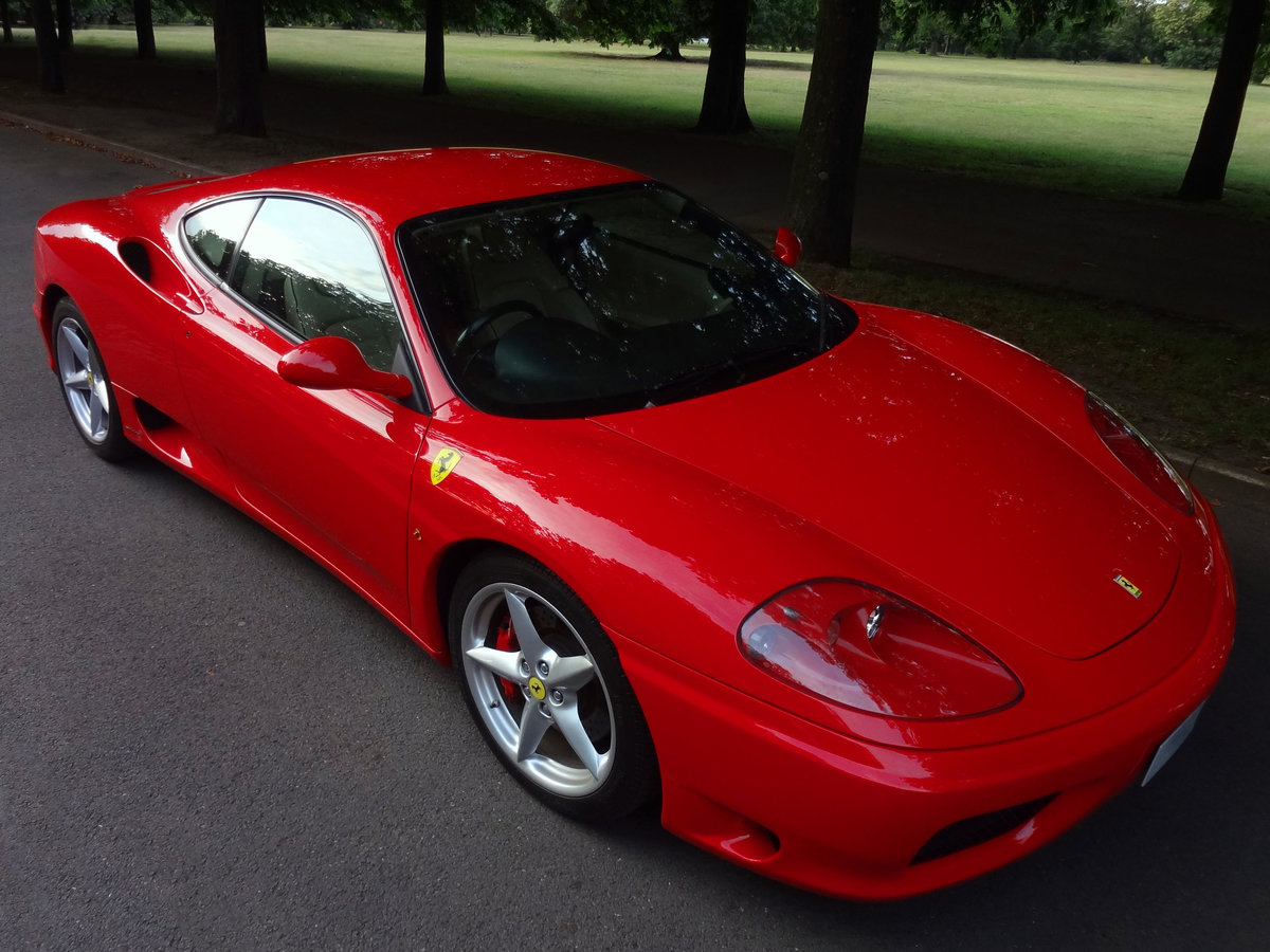 2000 FERRARI 360 MODENA F1 Rosso/Crema FSH For Sale (picture 1 of 6)