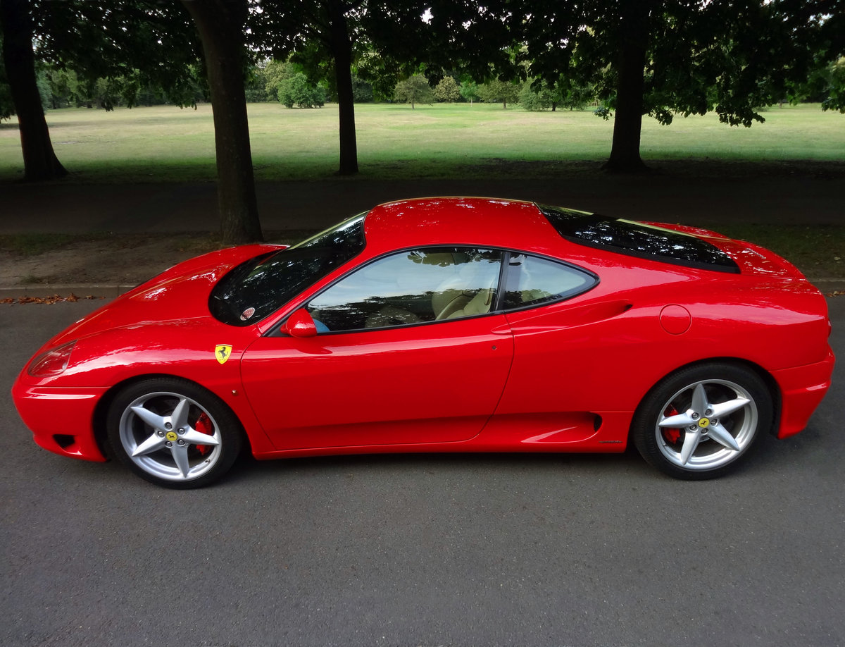 2000 FERRARI 360 MODENA F1 Rosso/Crema FSH For Sale (picture 2 of 6)