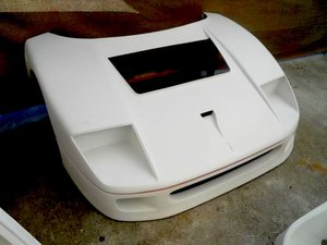 Picture of 1987 FERRARI F40 LM FRONT HOOD For Sale