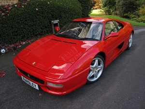 SOLD-ANOTHER REQUIRED Ferrari 355 Berlinetta manual