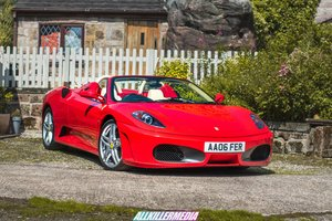 Ferrari f430 spider rare manual