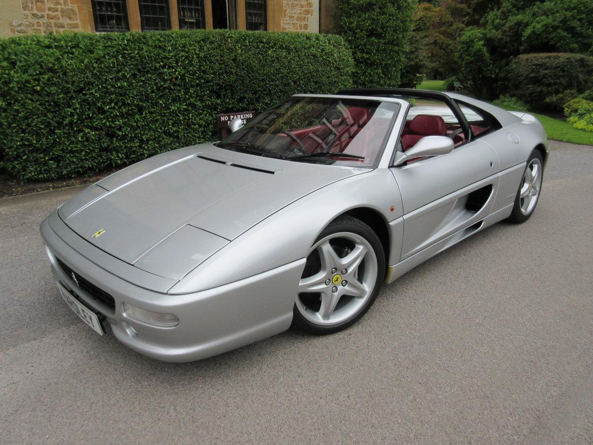 1999 Ferrari 355 GTS manual in a unique colour combination  For Sale (picture 1 of 6)