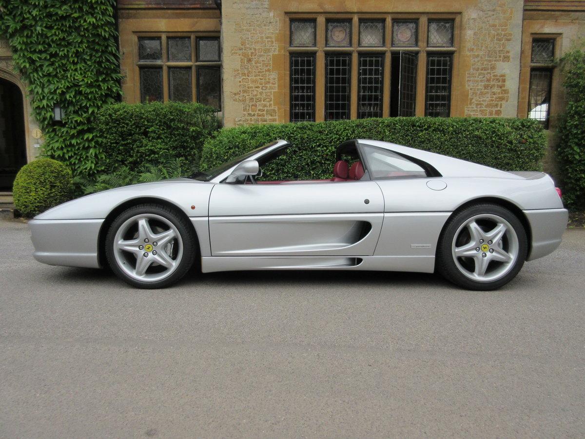 1999 Ferrari 355 GTS manual in a unique colour combination  For Sale (picture 2 of 6)