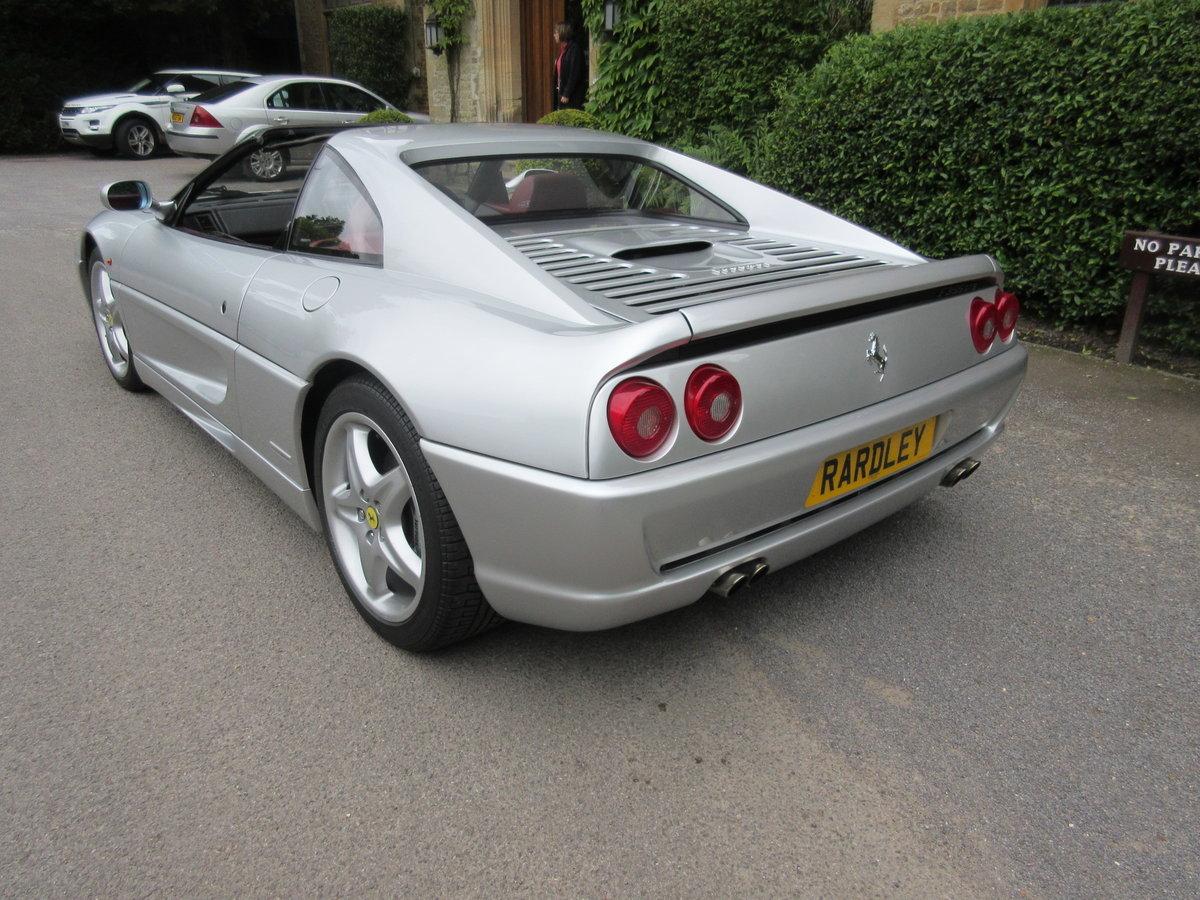 1999 Ferrari 355 GTS manual in a unique colour combination  For Sale (picture 3 of 6)