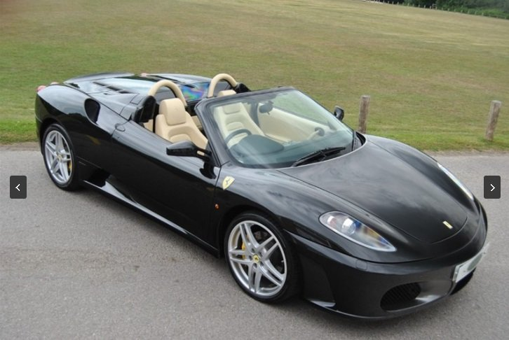 2006 FERRARI F430 SPIDER F1 - Only 10,000 Miles! For Sale (picture 1 of 6)