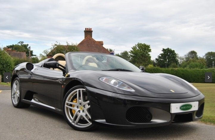 2006 FERRARI F430 SPIDER F1 - Only 10,000 Miles! For Sale (picture 2 of 6)