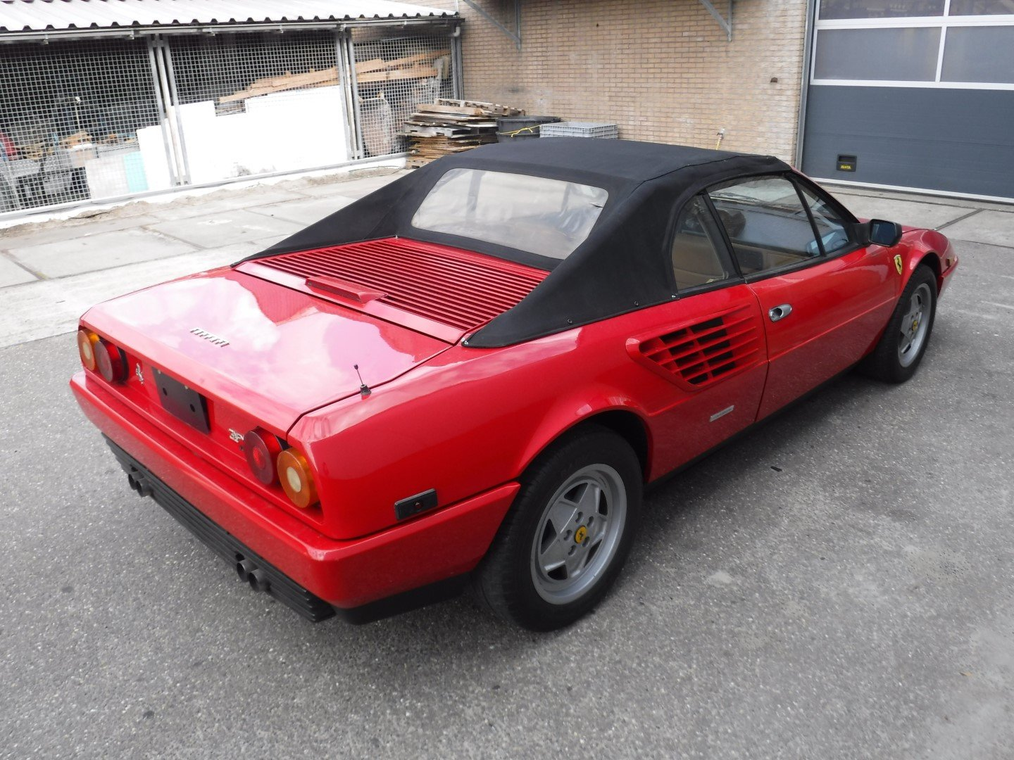 Ferrari Mondial cabrio 1988 For Sale (picture 2 of 6)