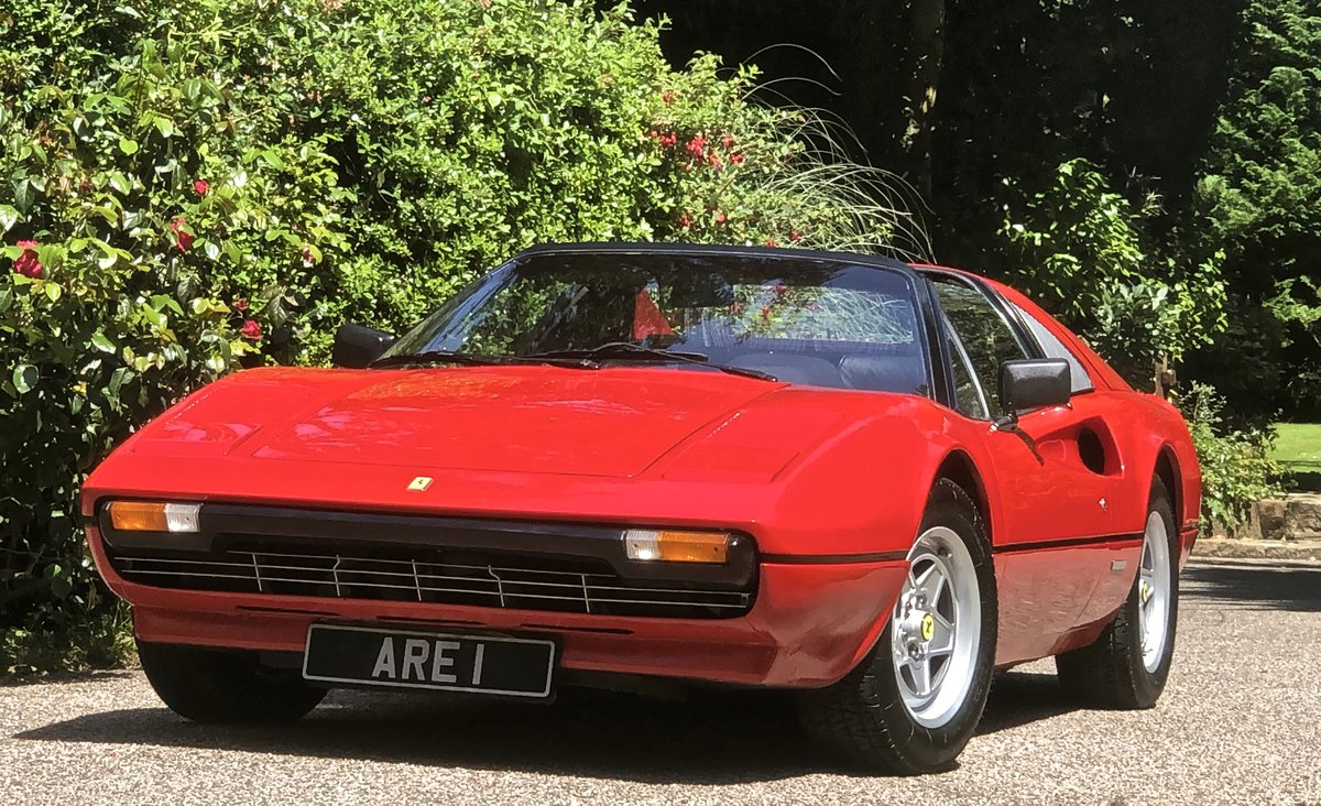 1981 FERRARI 308 GTS 1 OWNER 35 Year  history from new ! LHD For Sale (picture 1 of 6)