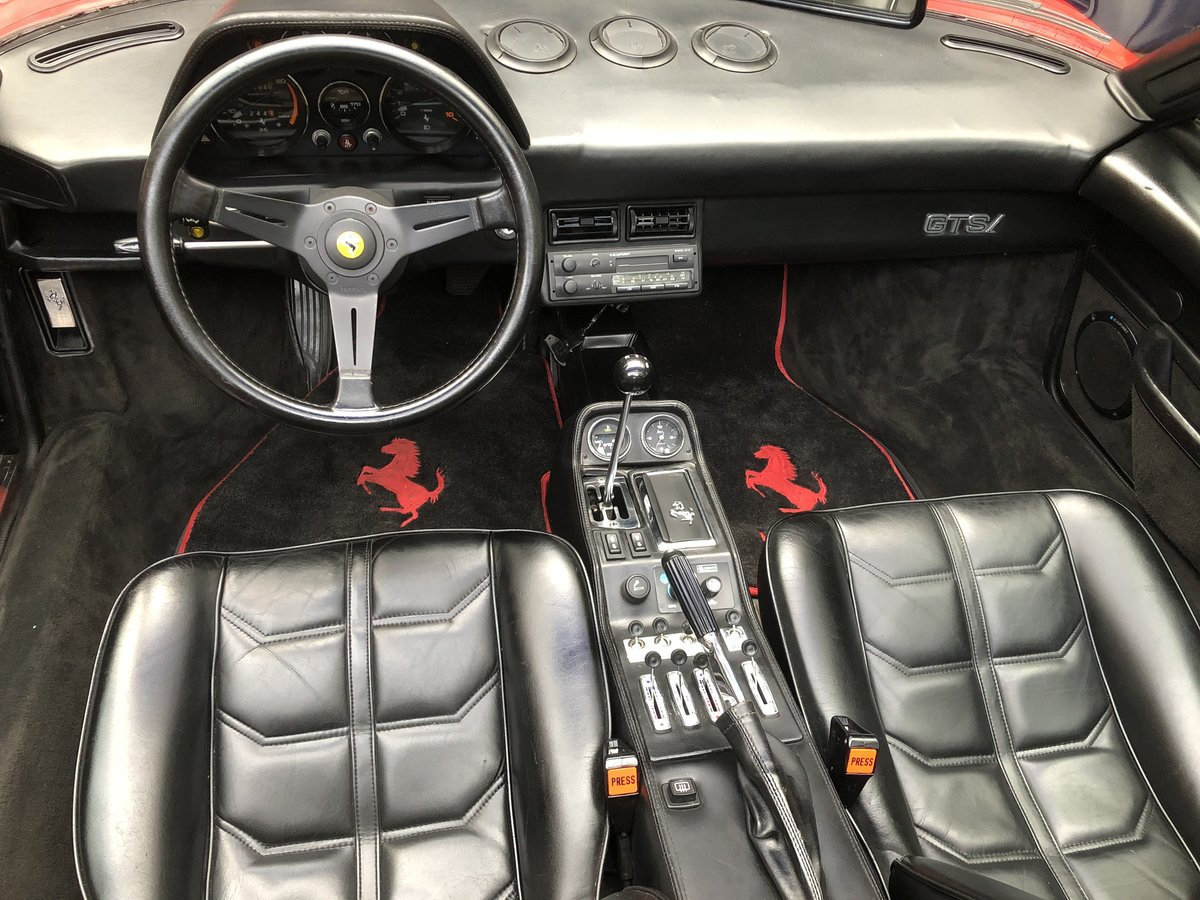 1981 FERRARI 308 GTS 1 OWNER 35 Year  history from new ! LHD For Sale (picture 4 of 6)