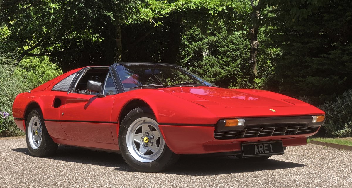 1981 FERRARI 308 GTS 1 OWNER 35 Year  history from new ! LHD For Sale (picture 6 of 6)
