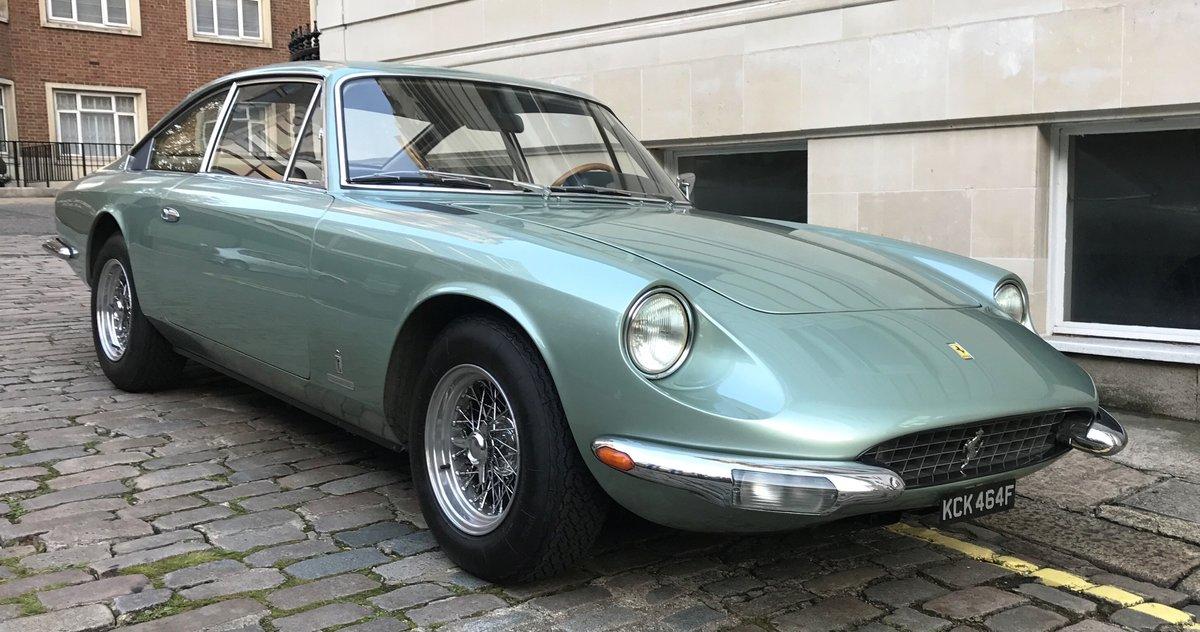 1968 Ferrari 365 GT 2+2 For Sale (picture 1 of 6)