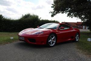 2000 Immaculate Ferrari 360 F1, FSH, Stradale TSU