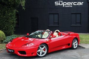 2003 Ferrari 360 Spider - 18K Miles - F1 - Challenge Grilles