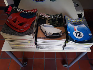 Picture of 0000 Cavallino Magazine. batch of 127 issue's. For Sale
