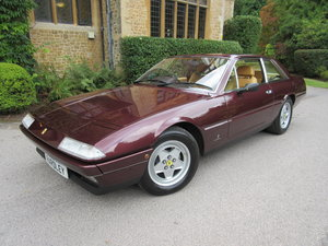 Picture of 1986 SOLD-Another required Ferrari 412 GTi- Uniquely specified For Sale