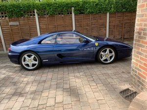 1999 Fantastic 355 GTS F1 in the Rare TDF Blue/Tan leather, FFSH
