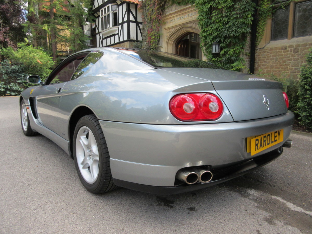 2002 SOLD -ANOTHER REQUIRED Ferrari 456 M GT six-speed ...