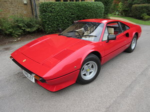 1980 Ferrari 308 GTB -dry sump. Four owners from new For Sale