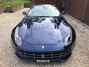 2011 Beautiful & unmarked Ferrari FF, Le Mans Blue/cream, FFMDSH