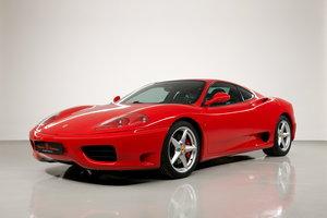 2002 Ferrari 360 Modena F1 LHD Italian Registered