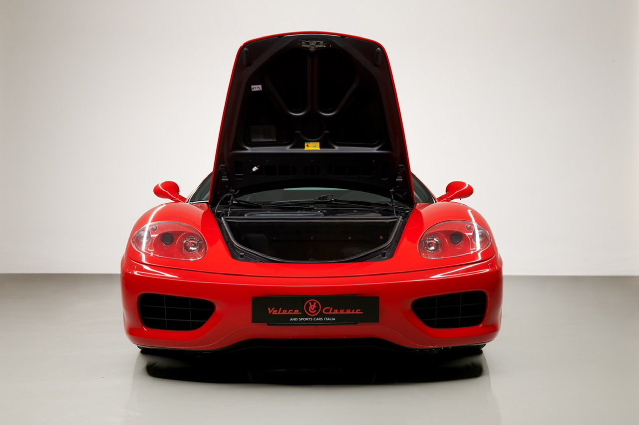 2002 Ferrari 360 Modena F1 LHD Italian Registered  For Sale (picture 5 of 24)