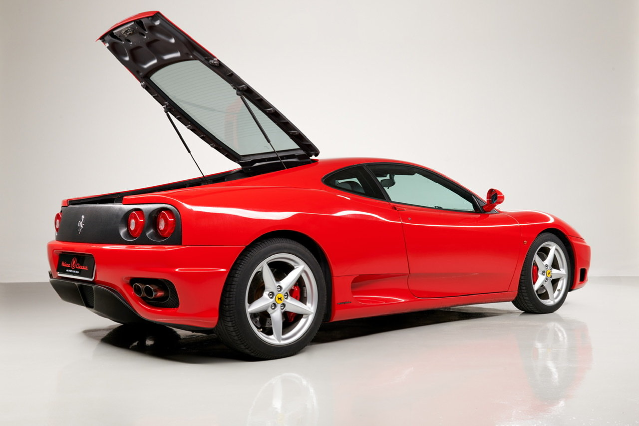 2002 Ferrari 360 Modena F1 LHD Italian Registered  For Sale (picture 6 of 24)