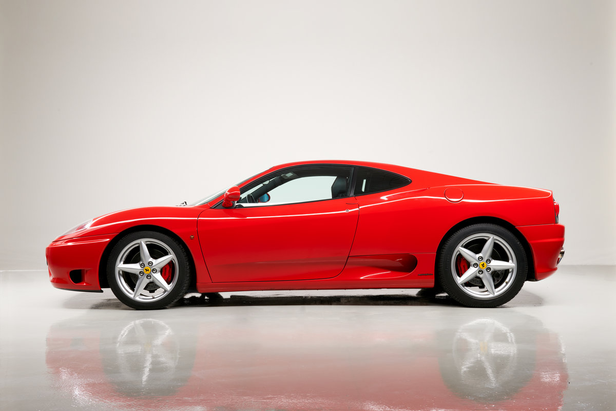 2002 Ferrari 360 Modena F1 LHD Italian Registered  For Sale (picture 8 of 24)