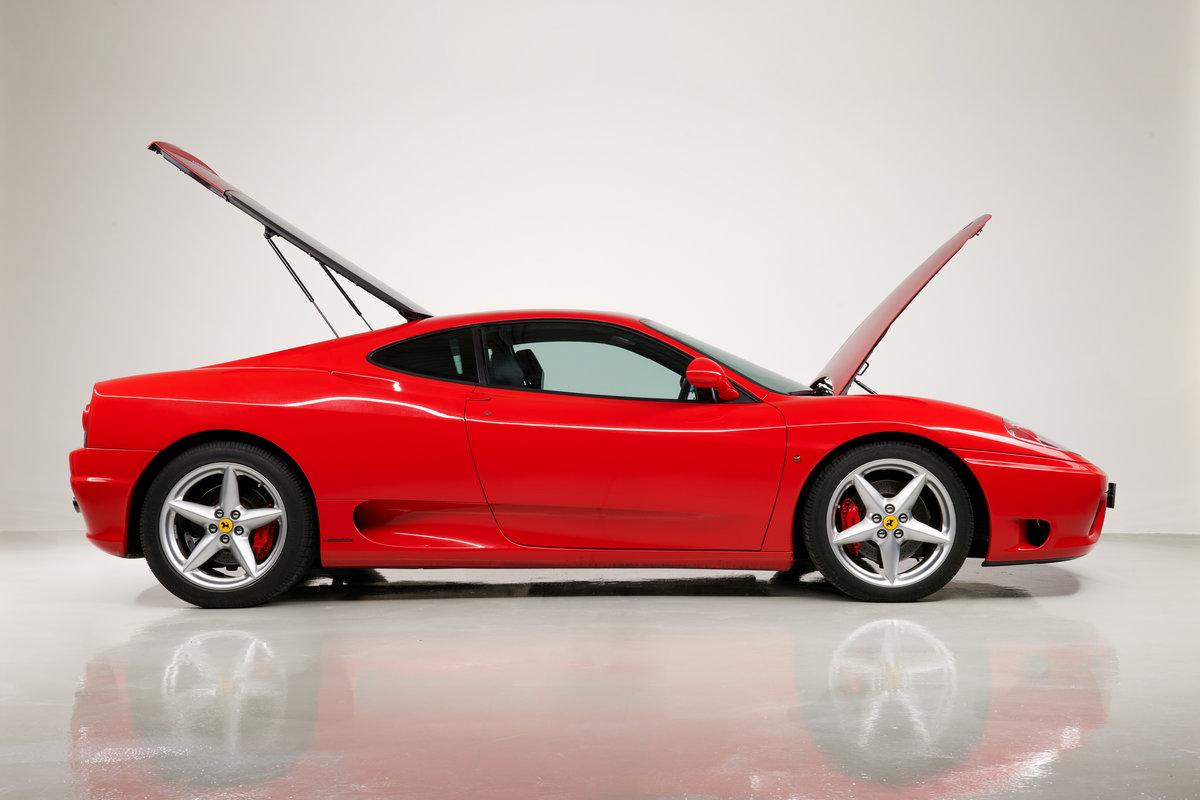 2002 Ferrari 360 Modena F1 LHD Italian Registered  For Sale (picture 9 of 24)