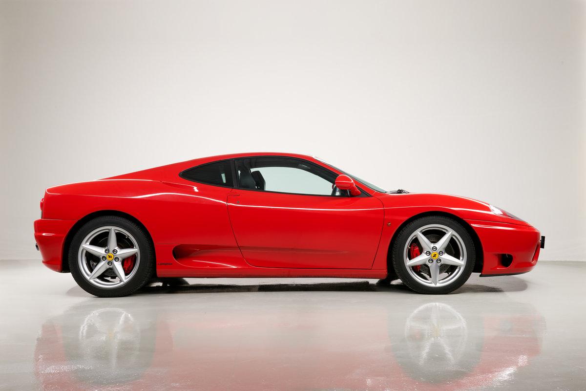 2002 Ferrari 360 Modena F1 LHD Italian Registered  For Sale (picture 10 of 24)