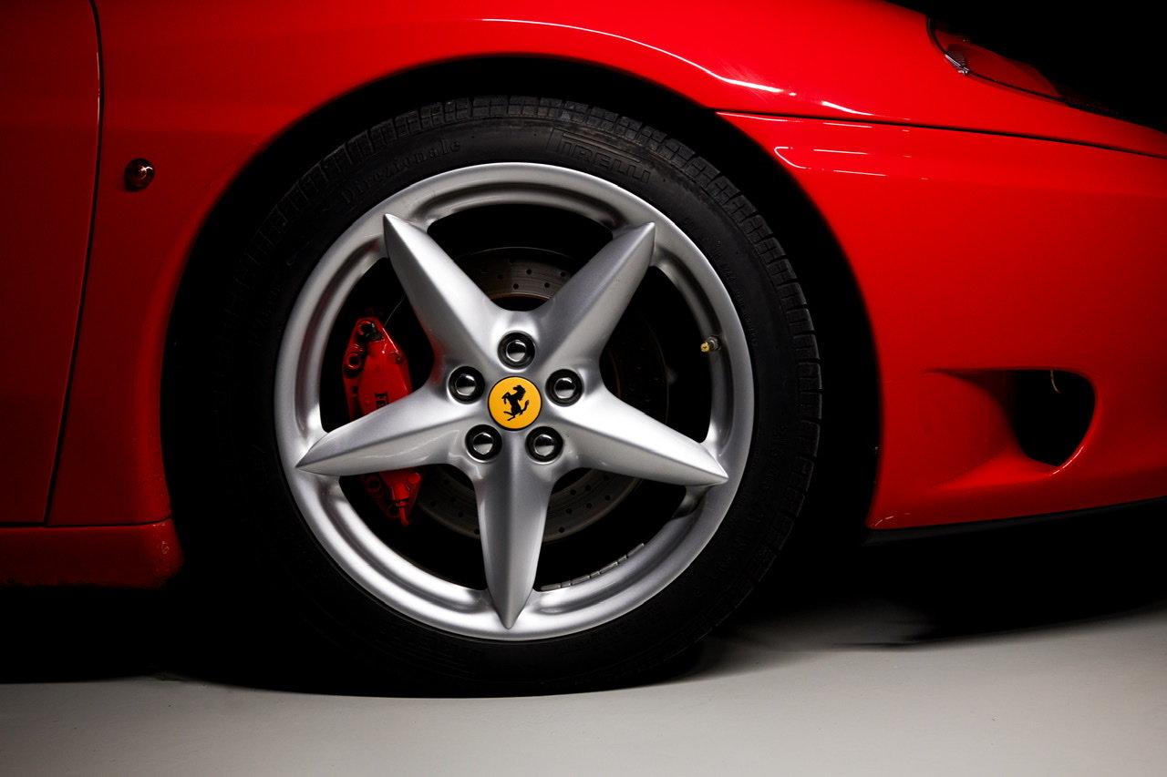 2002 Ferrari 360 Modena F1 LHD Italian Registered  For Sale (picture 16 of 24)