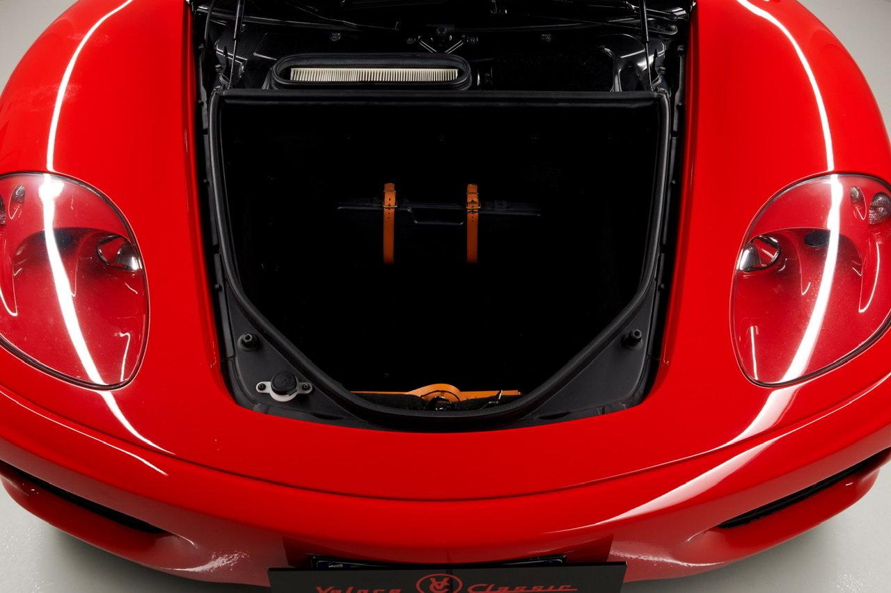2002 Ferrari 360 Modena F1 LHD Italian Registered  For Sale (picture 17 of 24)