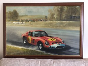 Ferrari oil painting by Dion pears.original