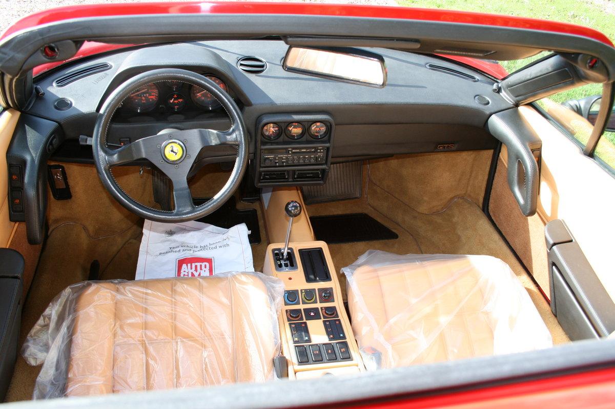 1989 Delivery Mileage Ferrari 328 GTS. Unique Opportunity For Sale (picture 5 of 6)