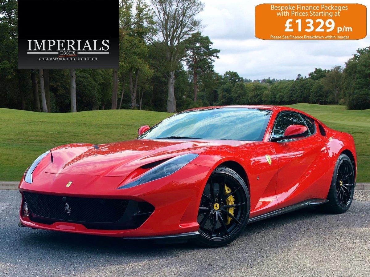 201868 Ferrari 812 SUPERFAST For Sale (picture 1 of 20)