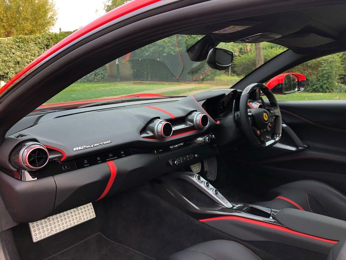 201868 Ferrari 812 SUPERFAST For Sale (picture 17 of 20)