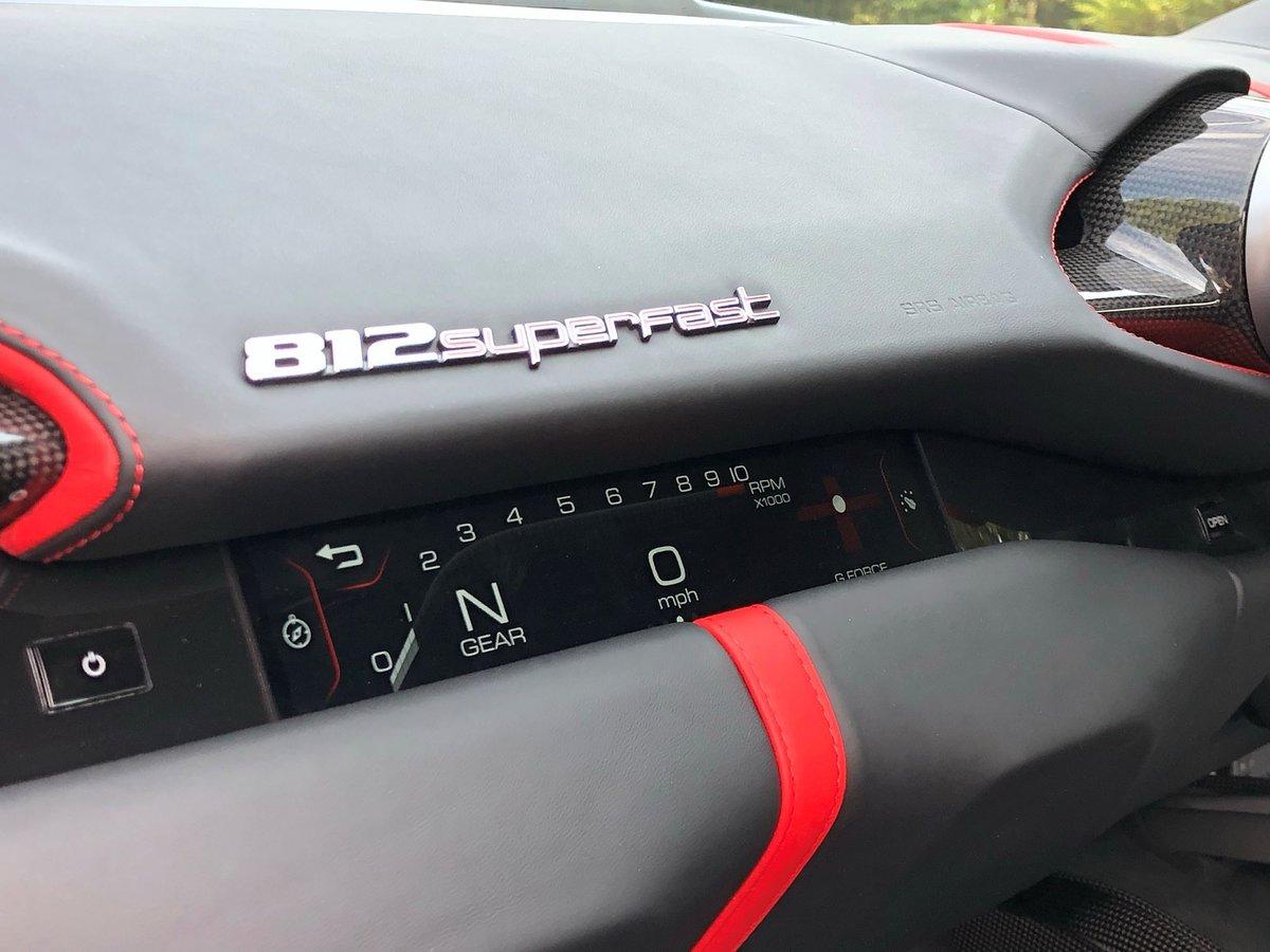 201868 Ferrari 812 SUPERFAST For Sale (picture 20 of 20)