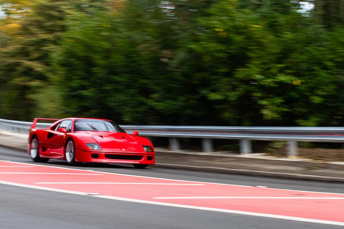 1990 Ferrari F40 - 5,750 Miles - Classiche Certified  For Sale (picture 1 of 6)